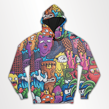 Cartoon  - All Over Hoodie & Sweatshirt