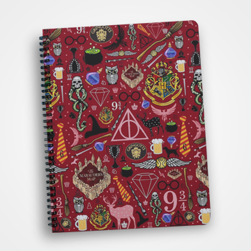 Hogwarts Collage - Harry Potter - Notebook