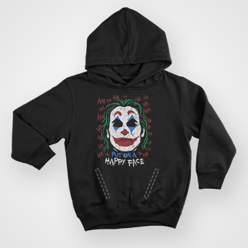 Put On A Happy face - Joker - Hoodie
