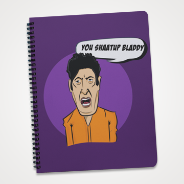 You Shaatup Bladdy - Khalil Ur Rehman - Aurat March - Notebook