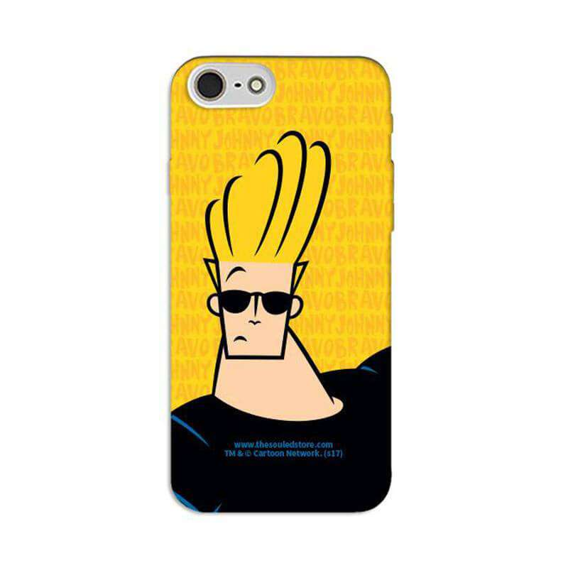 Johnny Bravo Printed Cell Cover - Cell Cover