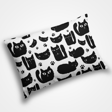 Cat Collage - Pillow Cover