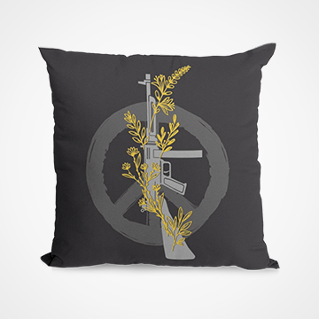 Peace Over War - Cushion