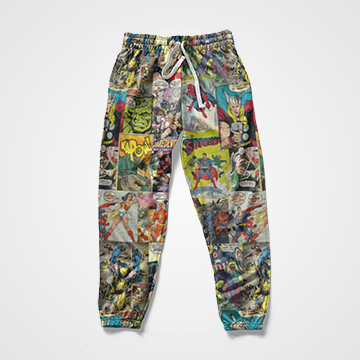 Marvel Comic - All Over Sweat Pants