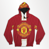 Manchester United - All Over Hoodie & Sweatshirt