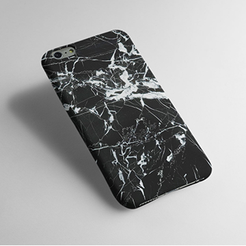Black Marble - Cell Cover