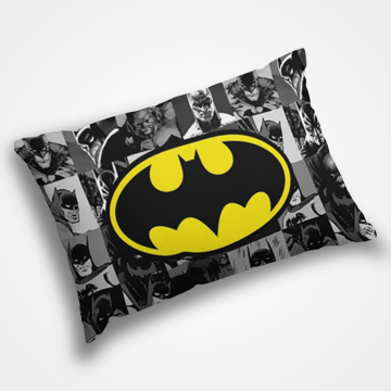 Batman Collage - Pillow Cover