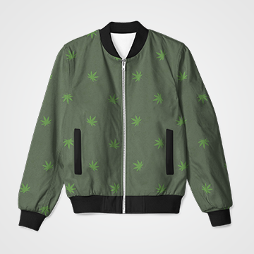 SALE - Weed - Bomber Jacket