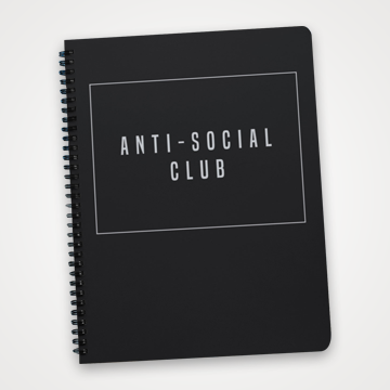 Anti Social Club - Notebook