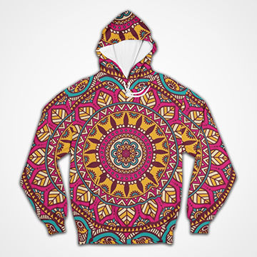 SALE - Mandala Art  -  All Over Hoodie & Sweatshirt