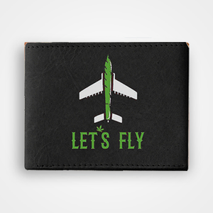 Lets Fly - Graphic Printed Wallets