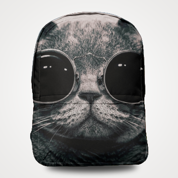Space Cat - Allover Printed Backpack