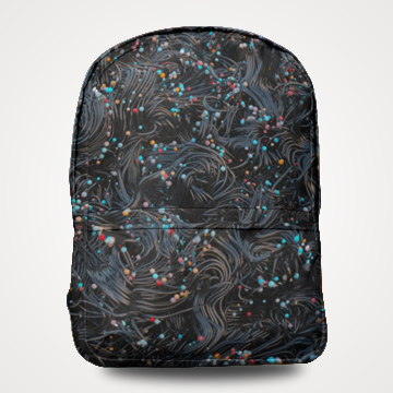 Abstract - Allover Printed Backpack