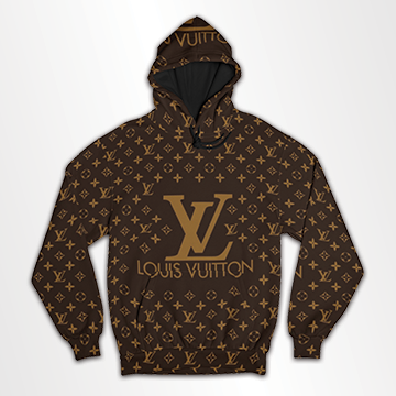 Supreme V&L - All Over Hoodie & Sweatshirt