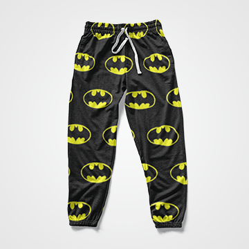 Batman Collage - All Over Sweat Pants