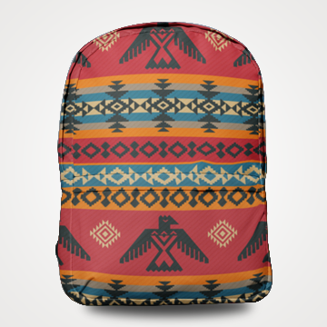 Triable Pattern - Allover Printed Backpack