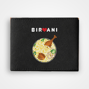 Biryani - Graphic Printed Wallets