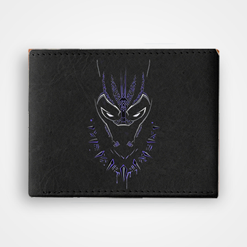 Black Panther - Graphic Printed Wallets