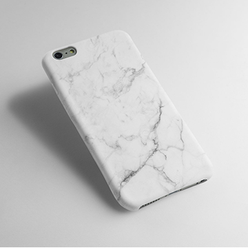 White Marble - Cell Cover