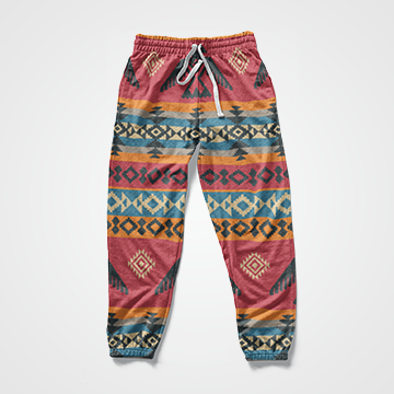 Abstract - All Over Sweat Pants - Custom Freaks