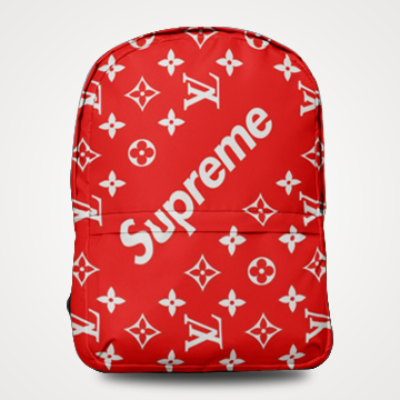 Supreme LV - Allover Printed Backpack