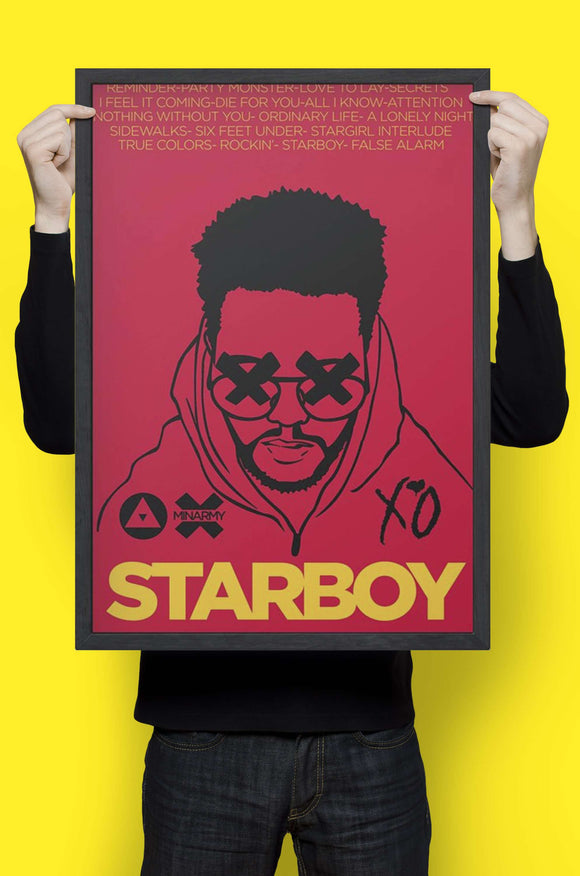 Weeknd - Wall Hangings