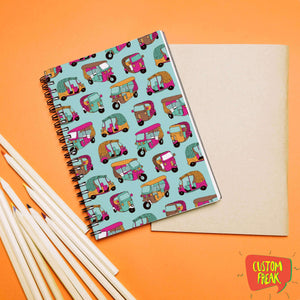 Rickshaw Patterns - Notebook