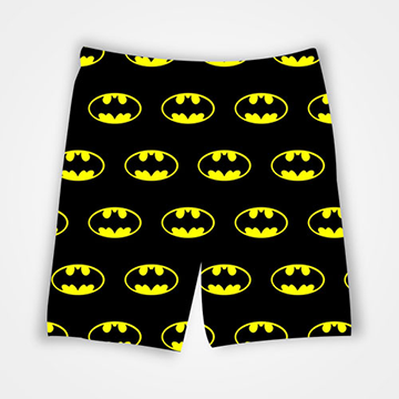 Batman Pattern - All Over Printed Shorts