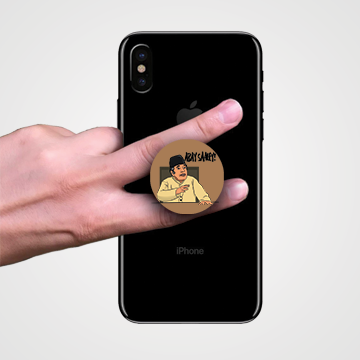 Moin Akhtar - loose talk - Abay Saale - Popsocket