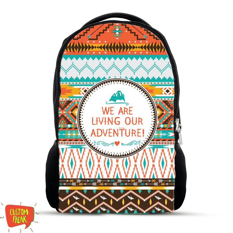 We Are Living Our Adventure - Backpack