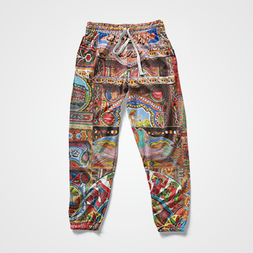 Truck Art- All Over Sweat Pants