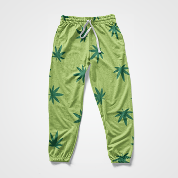 Weed - All Over Sweat Pants