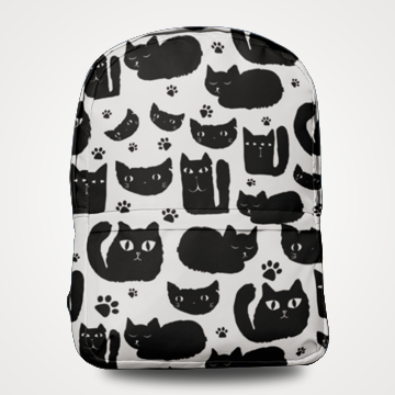 Lots Of Cats - Allover Printed Backpack