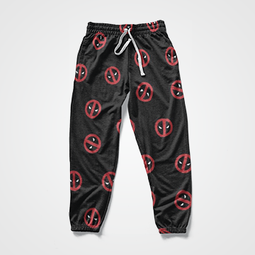Deadpool Collage -  All Over Sweat Pants