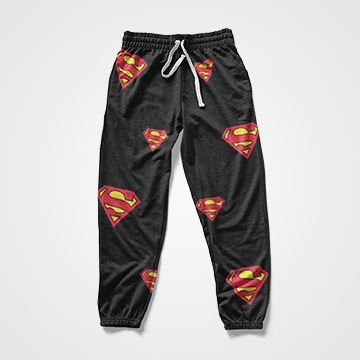 Superman Collage - All Over Sweat Pants
