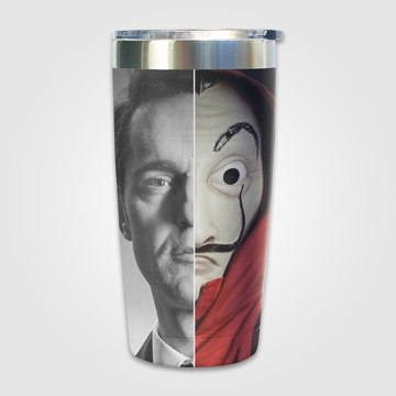 Money Heist -Double Face  - Travel Mug