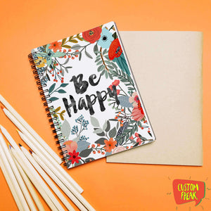 Be Happy - Notebook