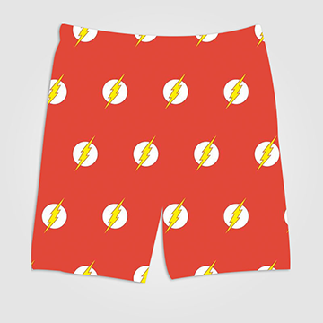 Flash Pattern - All Over Printed Shorts