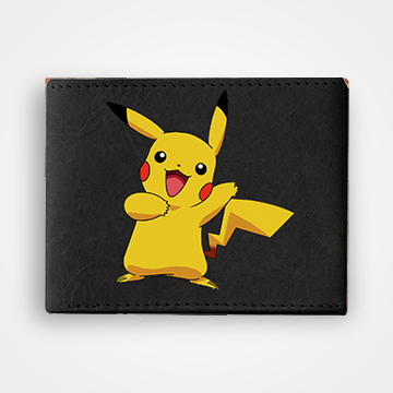 Pikachu - Graphic Printed Wallets