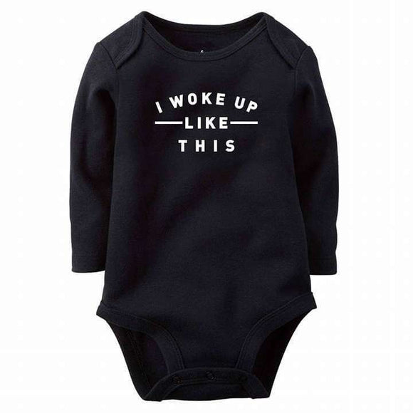I Woke Up Like This Baby Romper
