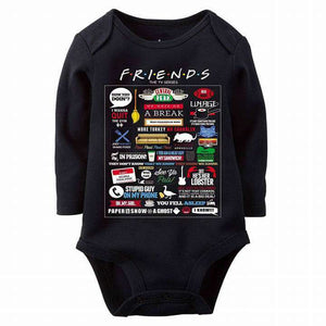 Friends Baby Romper