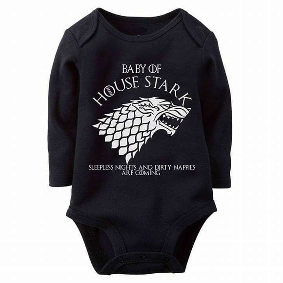 Baby Game Of Thrones Baby Romper
