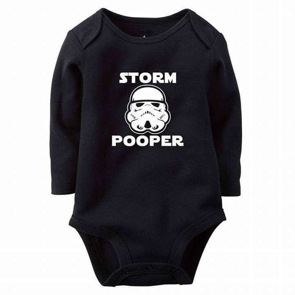 Star Wars Baby Poopers Baby Romper
