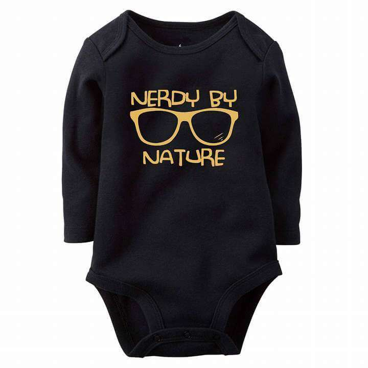 Nerdy By Nature Baby Romper