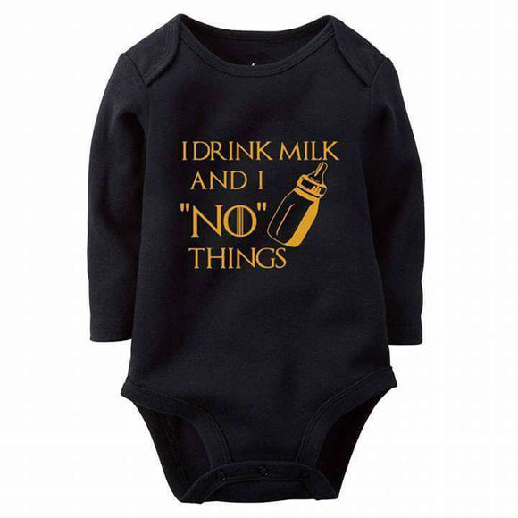 Game Of Thrones No Things Baby Romper