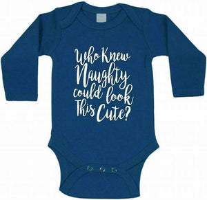 Funny Naughty Baby Romper
