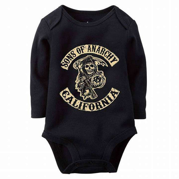 Son Of Anarchy Baby Romper