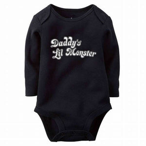 d90e569fed18 Daddy s Lil Monster Baby Romper