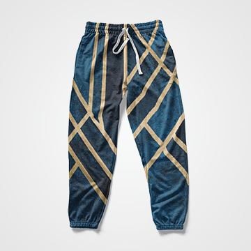 Gradient Lines -  All Over Sweat Pants