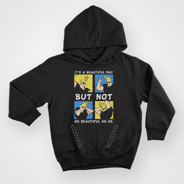 SALE -  Johnny Bravo Collage - Hoodie
